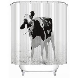 Beautiful Black And White Shower Curtains Design Ideas 01