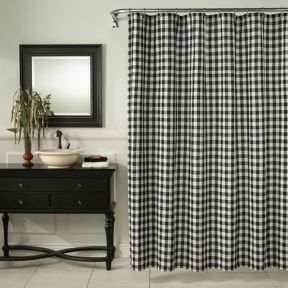Beautiful Black And White Shower Curtains Design Ideas 44