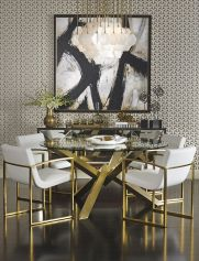 Inspiring Contemporary Style Decor Ideas For Dining Room 46
