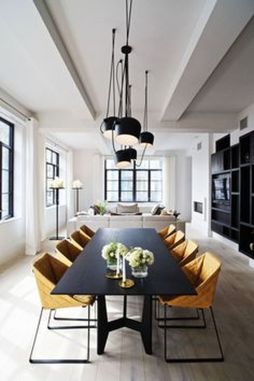 Inspiring Contemporary Style Decor Ideas For Dining Room 90