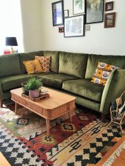 Modern Rustic Bohemian Living Room Design Ideas 30