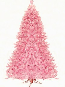 Cute And Adorable Pink Christmas Tree Decoration Ideas 33