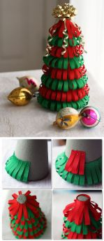 Easy And Creative DIY Christmas Tree Design Ideas You Can Try As Alternatives 23