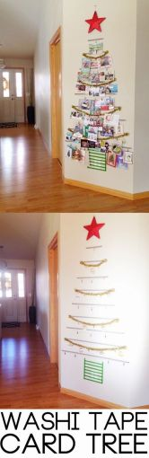 Easy And Creative DIY Christmas Tree Design Ideas You Can Try As Alternatives 81