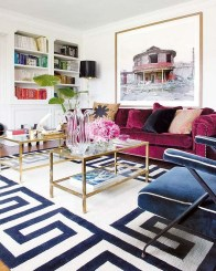 Inspiring Living Room Decoration Ideas With Carpet 21