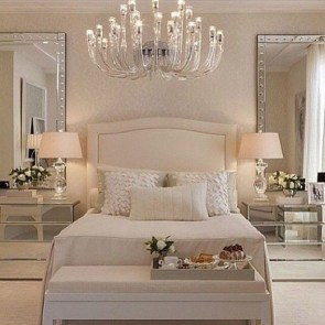 Modern And Elegant White Master Bedroom Decoration Ideas 86