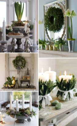 Stunning White Vintage Christmas Decoration Ideas 15