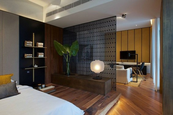 Totally Brilliant Bedroom Design Ideas For Small Apartment 32