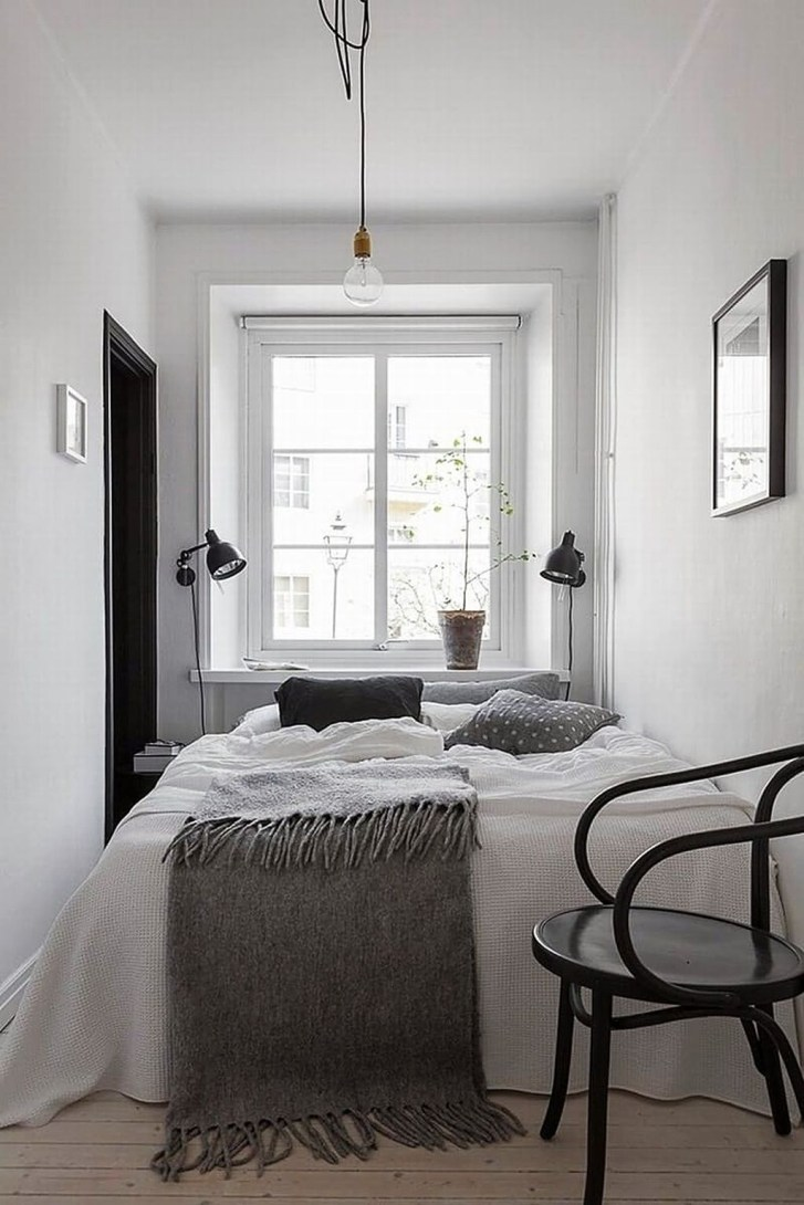 Totally Brilliant Bedroom Design Ideas For Small Apartment 88