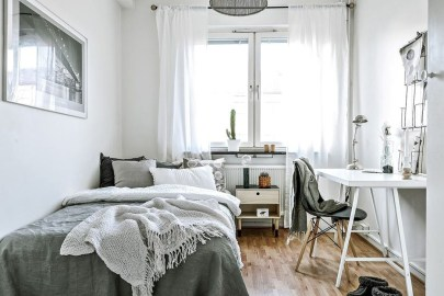 Totally Brilliant Bedroom Design Ideas For Small Apartment 91