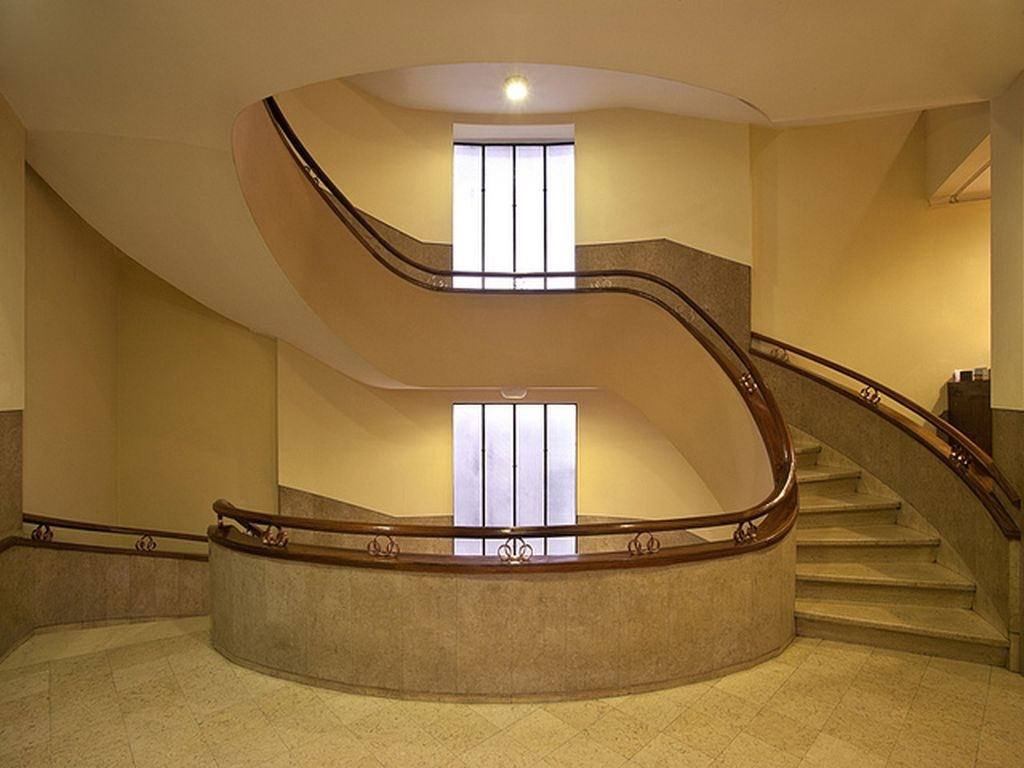Totally Inspiring Residential Staircase Design Ideas You Can Apply For Your Home 87