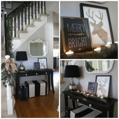 Elegant Black And Gold Christmas Decoration Ideas41