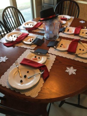 Elegant Christmas Table Decoration Ideas05