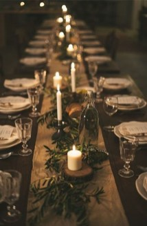 Elegant Christmas Table Decoration Ideas08