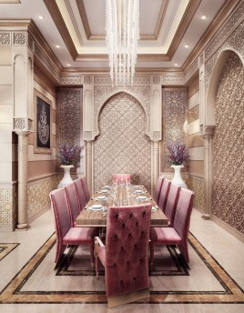 Exquisite Moroccan Dining Room Decoration Ideas33