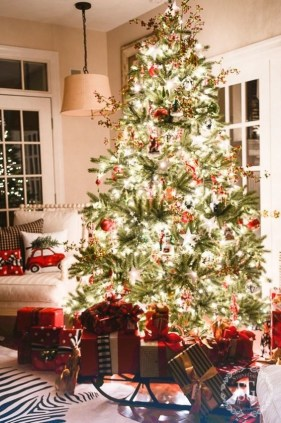 Gergerous Indoor Decoration Ideas With Christmas Lights20