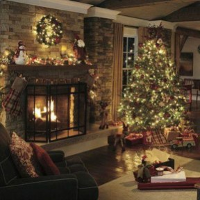 Gergerous Indoor Decoration Ideas With Christmas Lights32