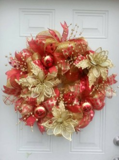 Totally Inspiring Red And Gold Christmas Decoration Ideas 48