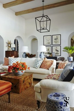 Bright And Colorful Living Room Design Ideas16