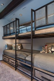 Cool And Functional Built In Bunk Beds Ideas For Kids27
