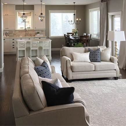Cozy Neutral Living Room Decoration Ideas 17