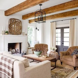 Cozy Neutral Living Room Decoration Ideas 38