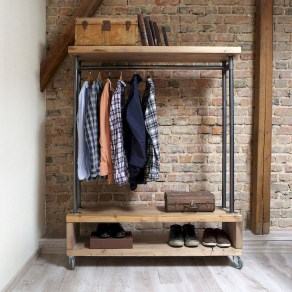 Creative Diy Industrial Shoe Rack Ideas 03
