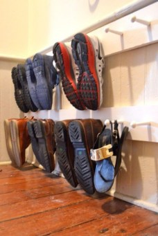 Creative Diy Industrial Shoe Rack Ideas 08