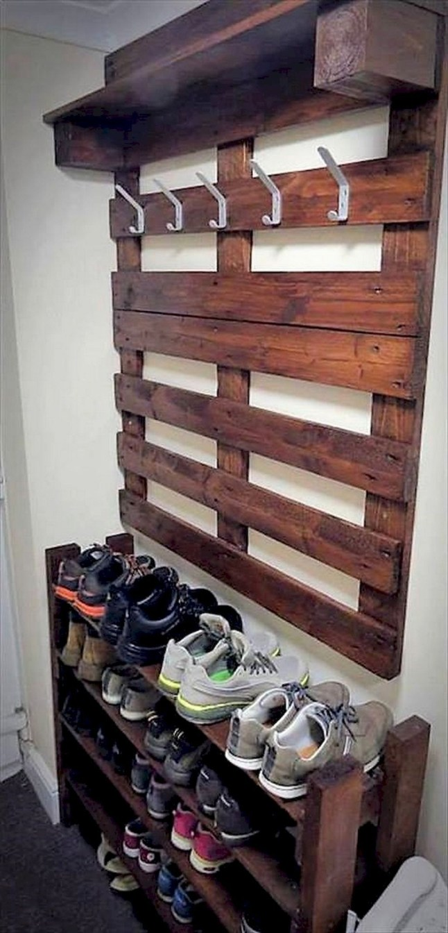 Creative Diy Industrial Shoe Rack Ideas 27
