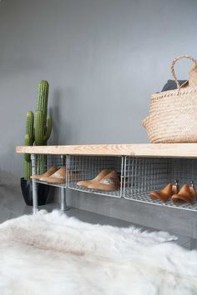 Creative Diy Industrial Shoe Rack Ideas 40