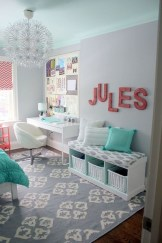 Cute Teen Room Design Ideas To Inspire You06