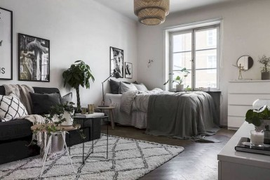 Totally Cool Tiny Apartment Loft Space Ideas 44