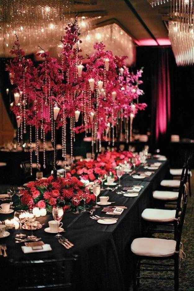 Cute Valentines Day Wedding Decoration Ideas 09