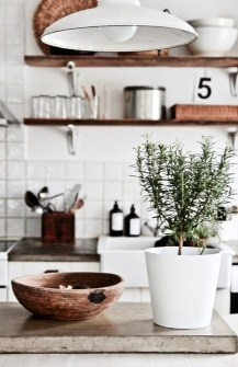 Stylish Rustic Kitchen Apartment Decoration Ideas 12