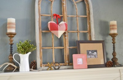 Totally Cool Valentine Mantel Decoration Ideas 11
