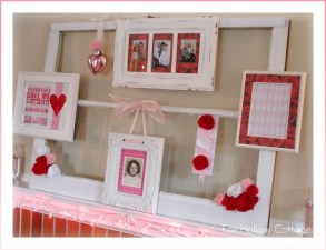 Totally Cool Valentine Mantel Decoration Ideas 23