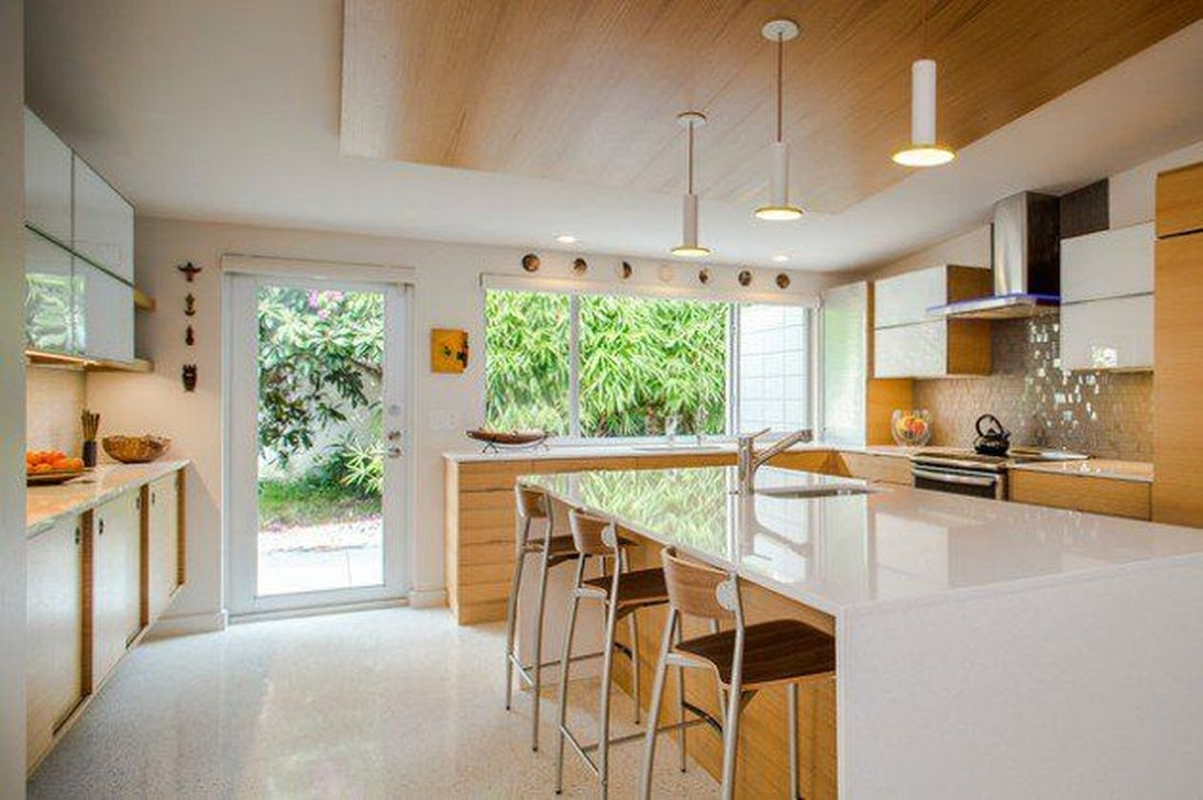 Cool Modern Mid Century Kitchen Decoration Ideas 48