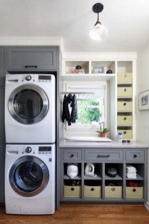 Totally Inspiring Small Functional Laundry Room Ideas 39