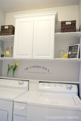 Totally Inspiring Small Functional Laundry Room Ideas 51