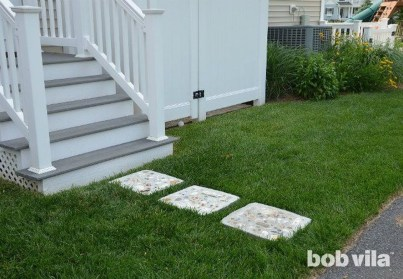 Stylish Stepping Stone Pathway Décor Ideas 37