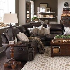 Beautiful Leather Couch Decorating Ideas For Living Room14