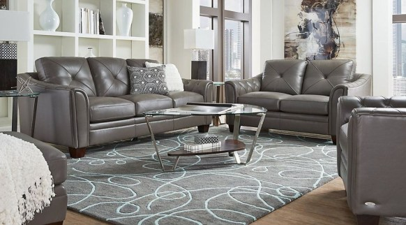 Beautiful Leather Couch Decorating Ideas For Living Room24