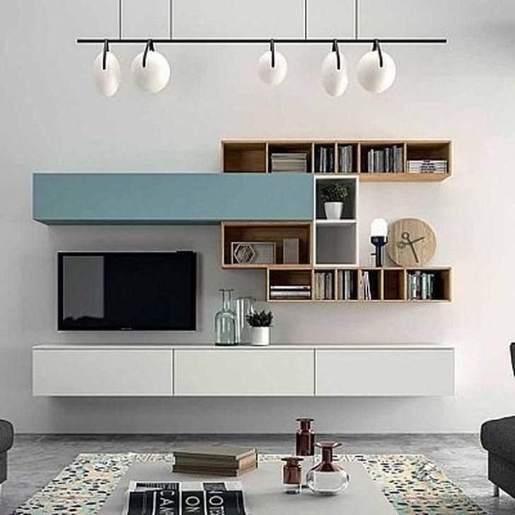 Best Ideas Modern Tv Cabinet Designs For Living Room 37