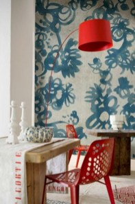 Cheap And Minimalist Red Accent Chair Dining Ideas 12