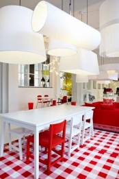 Cheap And Minimalist Red Accent Chair Dining Ideas 19