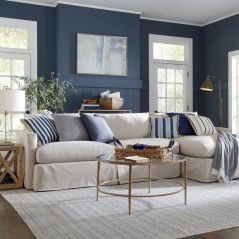 Gorgeous White And Blue Living Room Ideas For Modern Home 12