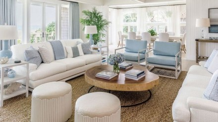 Gorgeous White And Blue Living Room Ideas For Modern Home 32