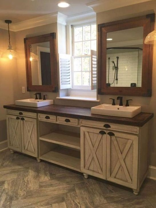 Modern Farmhouse Master Bathroom Remodel Ideas 12