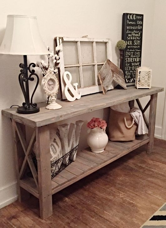 Stunning Farmhouse Entryway Decoration Ideas 37