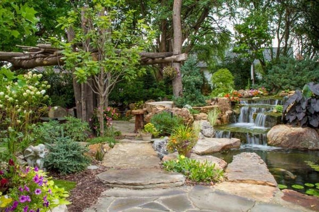 Pretty Backyard Pond Design Ideas25 Copy